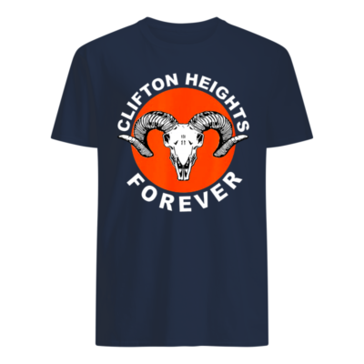 Clifton heights forever shirt, hoodie shirt - clifton heights shirt men s t shirt navy blue front 400x400