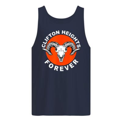 Clifton heights forever shirt, hoodie shirt - clifton heights shirt men s tank top navy blue front 400x400