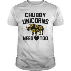 Sunflower Chubby unicorn need too shirt shirt - sunflower Chubby unicorn need too 247x247