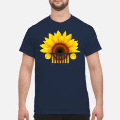 Sunflower Jeep shirt, hoodie, long sleeve shirt - sunflower jeep shirt men s t shirt navy blue front 1 247x247