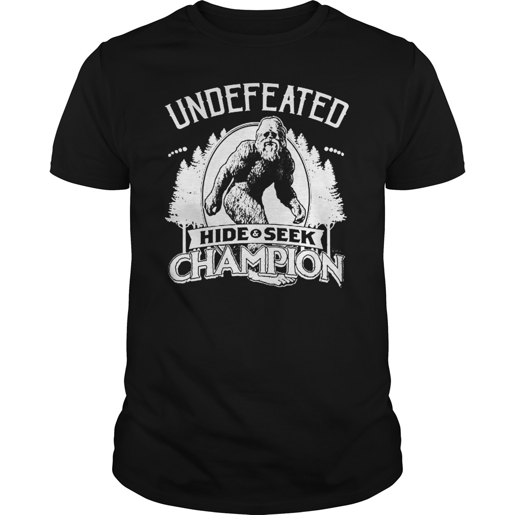 709c017ac Bigfoot Undefeated Hide and Seek Champion shirt shirt - undefeated hide seek  shirtvvv 510x510