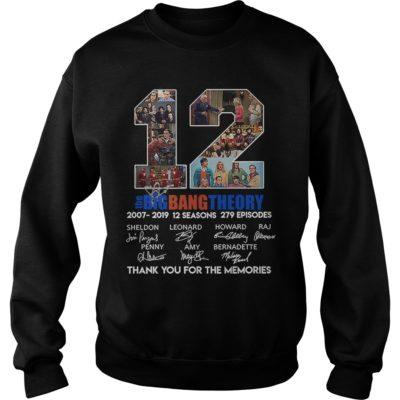 12 The Big Bang Theory thank you for the memories shirt shirt - 12 the big bang theory thank you for the memories shi 400x400