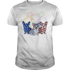4th Of July Three Corgi American Flag shirt shirt - 4th Of July Three Corgi American Flag shirt 247x247