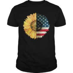 America flag sunflower shirt shirt - America flag sunflower. 247x247