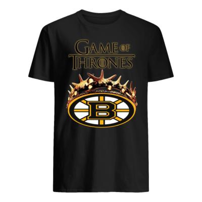 Game of Thrones Boston Bruins shirt shirt - game of boston shirt men s t shirt black front 400x400