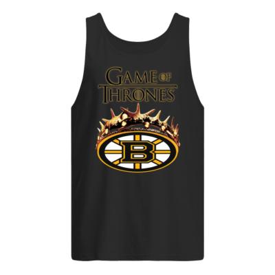 Game of Thrones Boston Bruins shirt shirt - game of boston shirt men s tank top black front 400x400