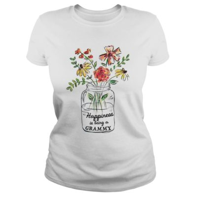 Vase of Flowers Happiness is being a Grammy shirt shirt - happiness shi 400x400