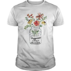 Vase of Flowers Happiness is being a Grammy shirt shirt - happiness shirt 247x247