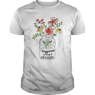 Vase of Flowers Happiness is being a Grammy shirt shirt - happiness shirt 400x400