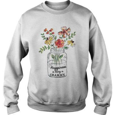Vase of Flowers Happiness is being a Grammy shirt shirt - happiness shirtvv 400x400