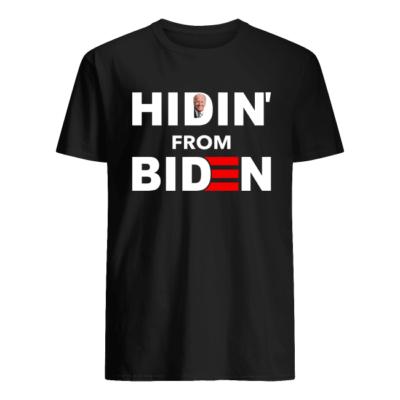 Hidin from Biden shirt, hoodie shirt - hidin from biden shirt men s t shirt black front 400x400