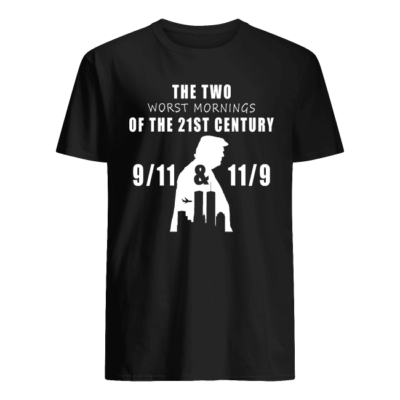The Two Worst Morning The 21st Century shirt shirt - the two worst morning the 21st century shirt men s t shirt black front 400x400