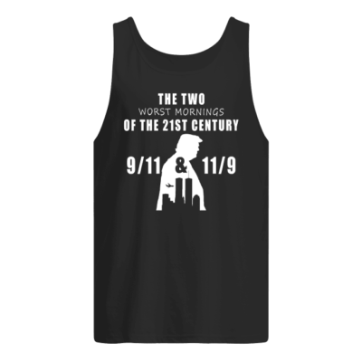 The Two Worst Morning The 21st Century shirt shirt - the two worst morning the 21st century shirt men s tank top black front 400x400