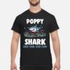 Poppy  Shark Doo Doo Doo shirt shirt - poppy shark doo doo doo shirt men s t shirt black front 1 100x100