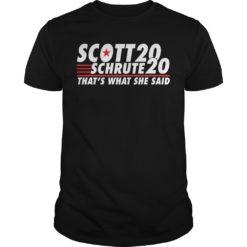 Scott 20 schrute 20 that's what she said shirt shirt - aa 247x247
