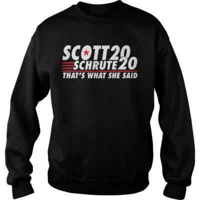 Scott 20 schrute 20 that's what she said shirt shirt - aaaaaaaaaaaaa 400x400