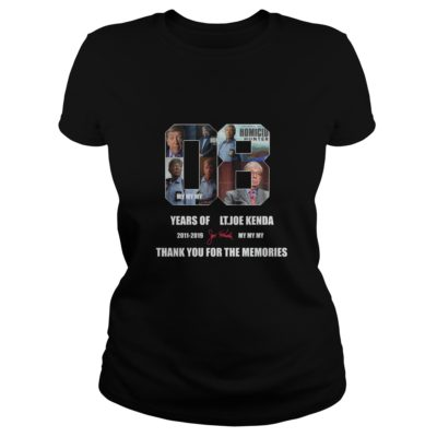 08 years of Lt. Joe Kenda thank you for the memories shirt shirt - 08 years of Lt. Joe Kenda thank you for the memories shirtvv 400x400