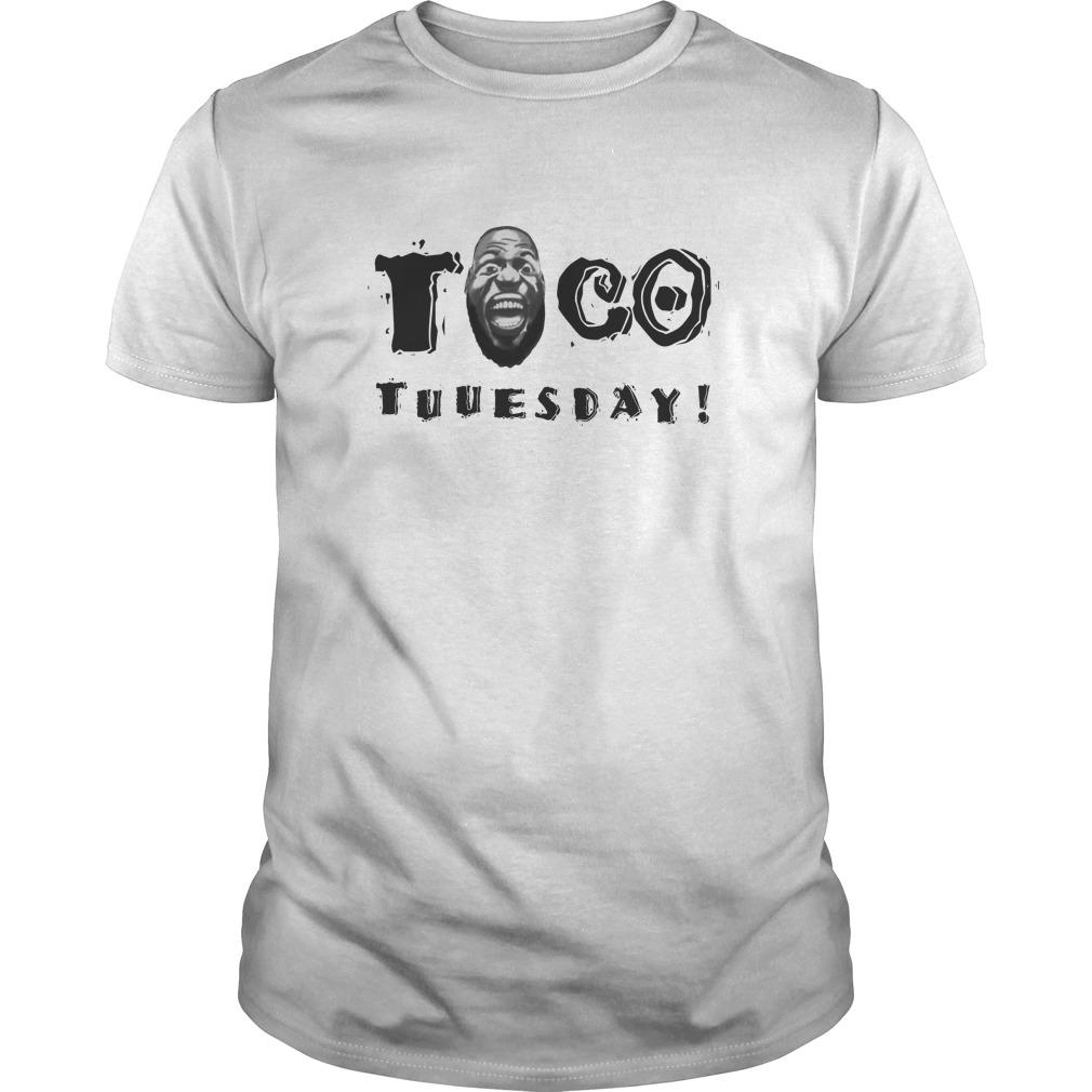 quality design 97730 d1daa LeBron James Taco Tuesday shirt