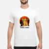 No human is illegal on stolen land shirt shirt - ghoul gang shirt men s t shirt white front 1 100x100