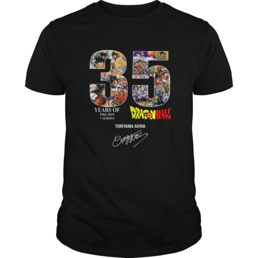 35 years of Dragon Ball shirt shirt - 35 years of Dragon Ball shirt 510x510