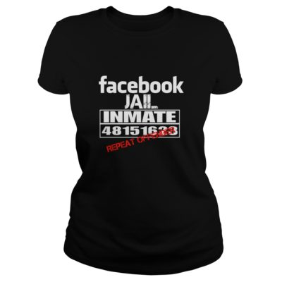 Facebook Jail Inmate Repeat Offender shirt shirt - Facebook Jail Inmate Repeat Offender shirtv 400x400