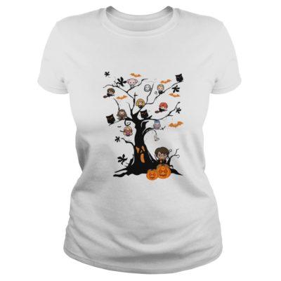 Harry Potter Halloween Tree shirt shirt - Harry Potter Halloween Tree shirtv 400x400