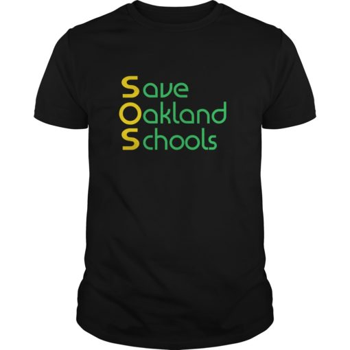 Save Oakland Schools T shirt shirt - Save Oakland Schools T shirt 510x510