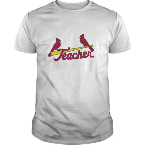 St. Louis Cardinals Teacher shirt shirt - So simple t shirt for you one the best choice. With full styles size custom colors for everybody. 510x510