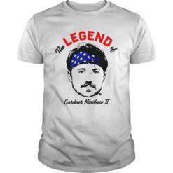 The Legend of Gardner Minshew shirt shirt - The Legend of Gardner Minshew Two shirt 247x247