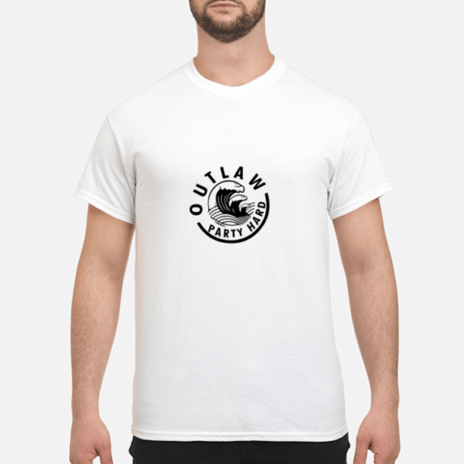 Outlaw Party Hard shirt shirt - outlaw party hard shirt men s t shirt white front 1 510x510