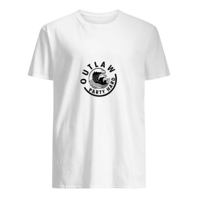 Outlaw Party Hard shirt shirt - outlaw party hard shirt men s t shirt white front 400x400