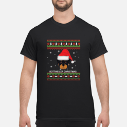 Rottweiler Ugly Christmas sweater shirt - rottweiler ugly christmas sweatshirt men s t shirt black front 1 247x247