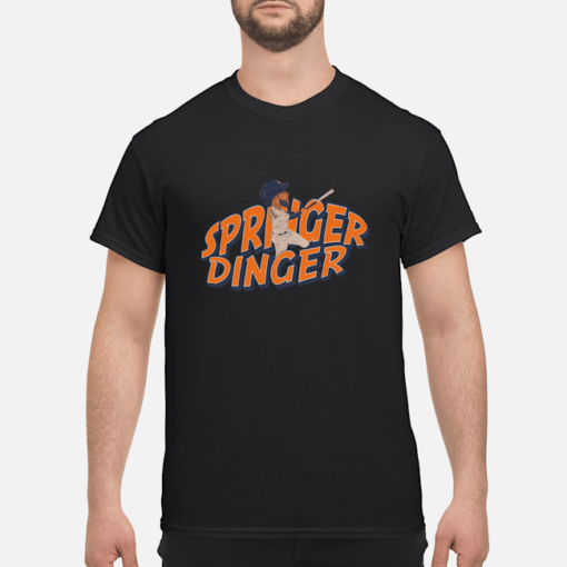 Springer Dinger shirt shirt - springer dinger t shirt men s t shirt black front 1 510x510