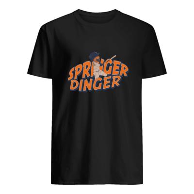 Springer Dinger shirt shirt - springer dinger t shirt men s t shirt black front 400x400