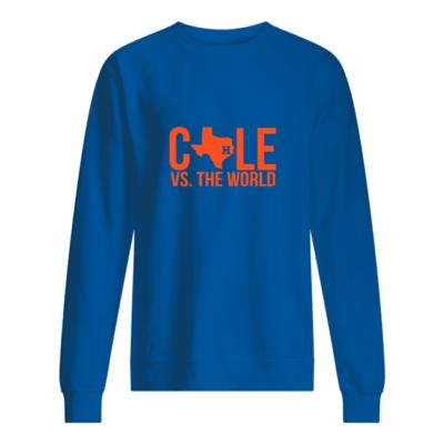 Verlander Cole Vs The World shirt shirt - verlander cole vs the world t shirt unisex sweatshirt royal front 400x400