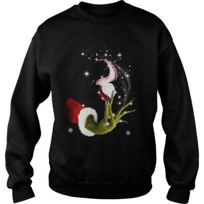 Grinch Hand Holding Glass of Wine shirt shirt - Funny The Grinch Christmas coming for you and friend. Buy now If you want this shir 1 400x400