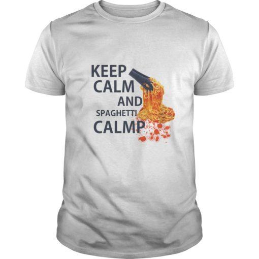 Keep calm and spaghetti clamp shirt shirt - Keep calm and spaghetti clamp shirt 510x510