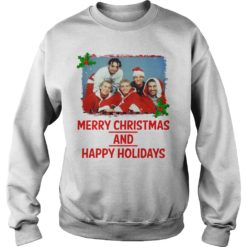 NSYNC Merry Christmas and Happy Holidays sweatshirt shirt - NSYNC Merry Christmas and Happy Holidays sweatshirtvvv 247x247