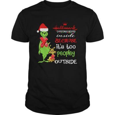 Grinch Hallmark Christmas Movies Inside shirt shirt - afwafd 400x400