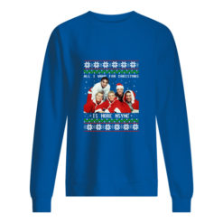 All I want for Christmas is more nsync sweater shirt - bbbb 3 247x247