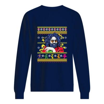 Jerry Garcia Christmas sweatshirt shirt - bbbbbbbb 400x400