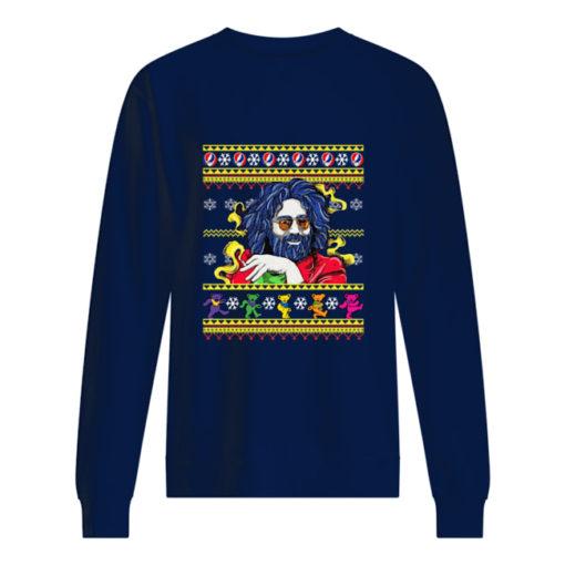 Jerry Garcia Christmas sweatshirt shirt - bbbbbbbb 510x510