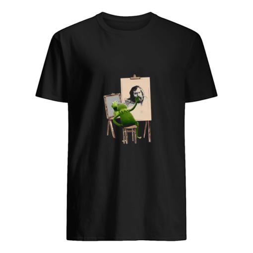 Kermit The Frog painting Jim Henson shirt shirt - c 1 510x510