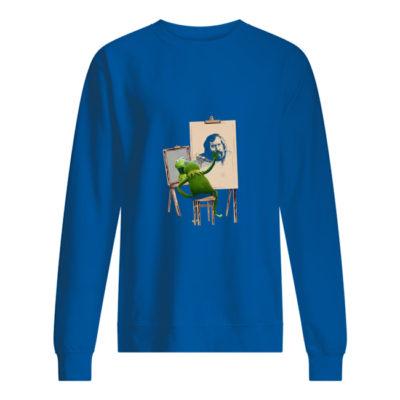 Kermit The Frog painting Jim Henson shirt shirt - cccccccccccc 400x400