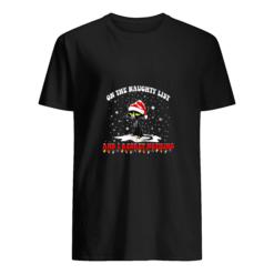Black Cat Santa on the naughty list and I regret nothing shirt shirt - e 4 247x247