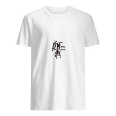 Zero Bark Thirty shirt shirt - legend zero bark thirty t shirt men s t shirt white front 400x400