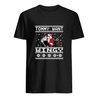 Tommy want wingy Christmas sweatshirt shirt - qqq 400x400