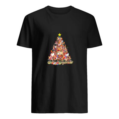 Chicken Christmas tree sweater shirt - t 1 400x400