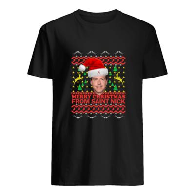 Nick Saban Christmas sweater shirt - t 400x400