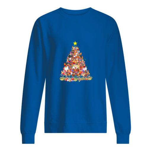 Chicken Christmas tree sweater shirt - tttt 510x510